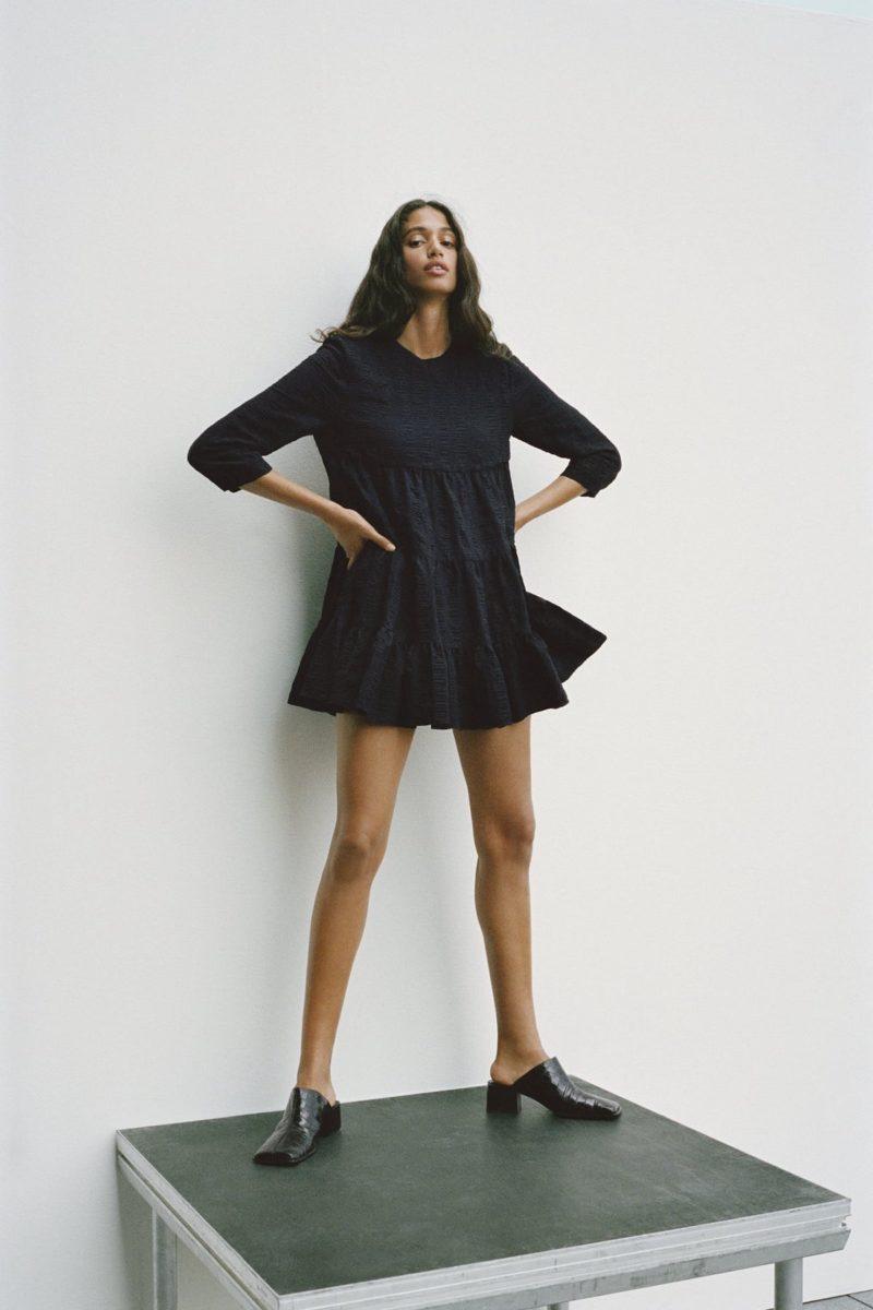 Little Black Dress with A Twist