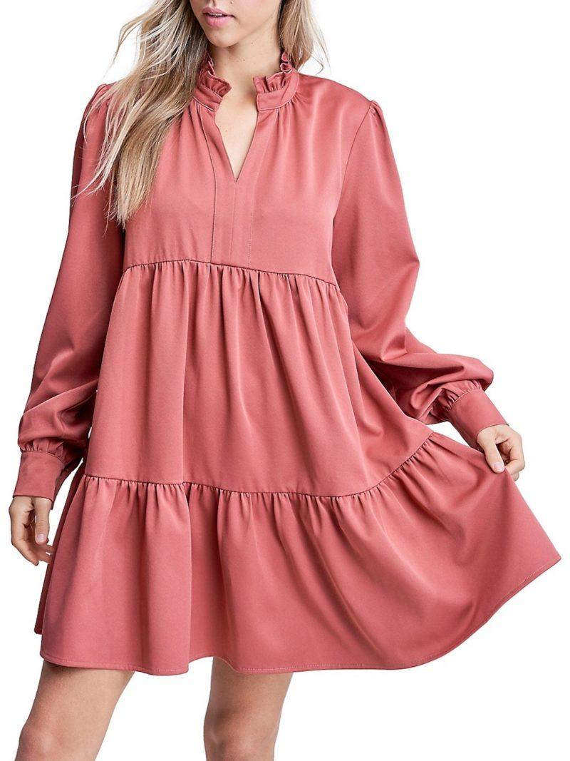 Fall 2020 Fashion Baby Doll Dress