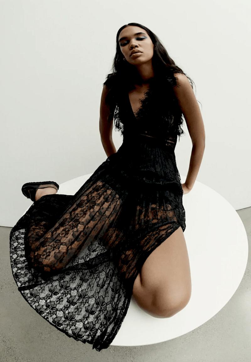 Fall Fashion 2020 Lace Dress