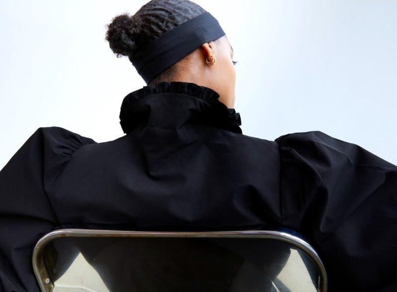 Fall 2020 Fashion Black Dress