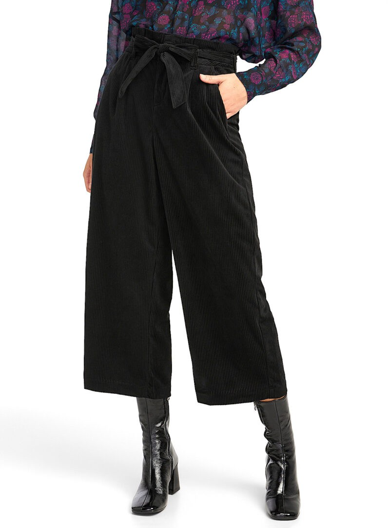 Fall Fashion Corduroy Culottes