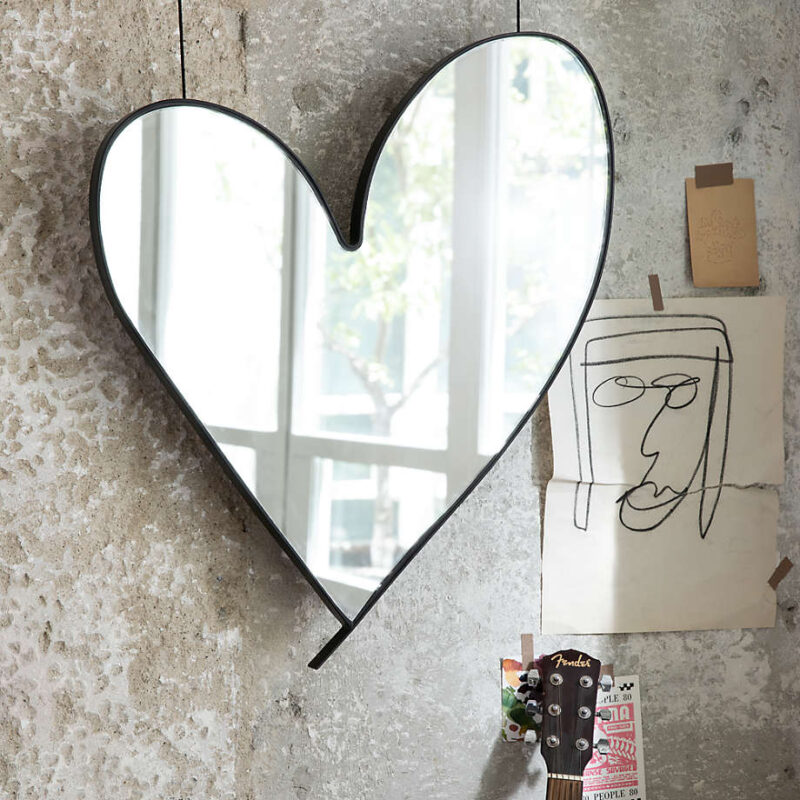 Leanne Ford: Heart Shaped Mirror