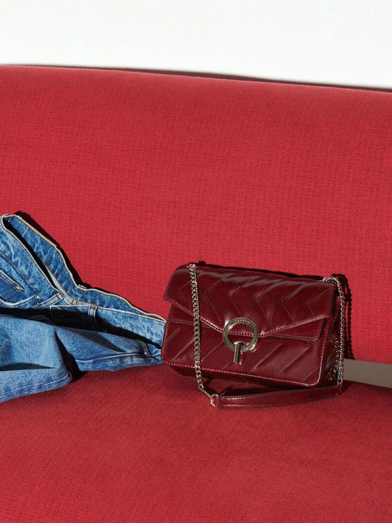 Sandro Paris Quilted Purse