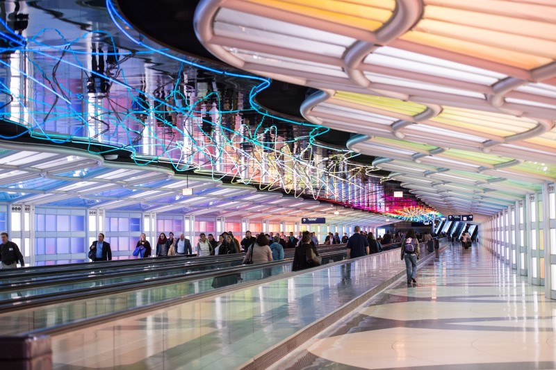 O'Hare Airport People Mover