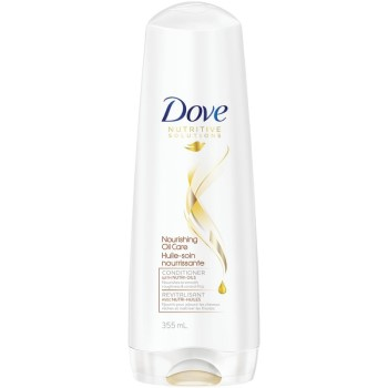 Dry, Damaged Hair: Dove Conditioner