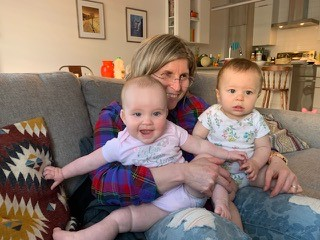 Parkinson's: Linda with Grandchildren