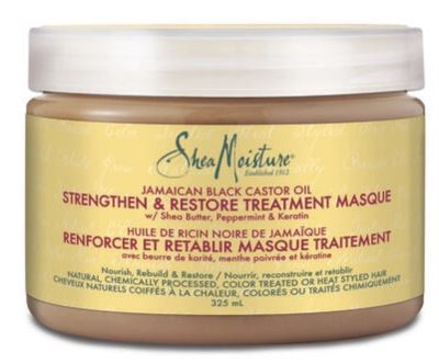 Dry, Damaged Hair: Shea Moisture Conditioner