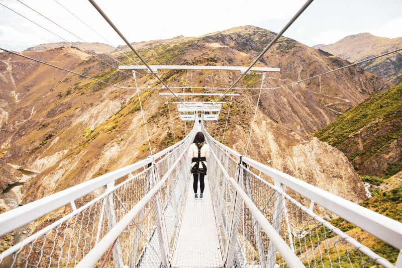 Millennials: Suspension Bridge
