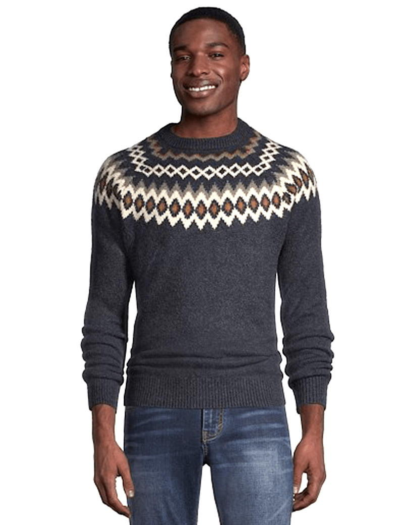 Marks Wearhouse Fairisle Sweater