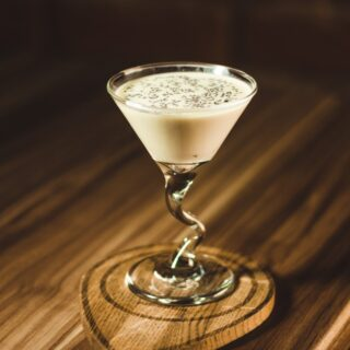 Bar Cream: Martini Glass