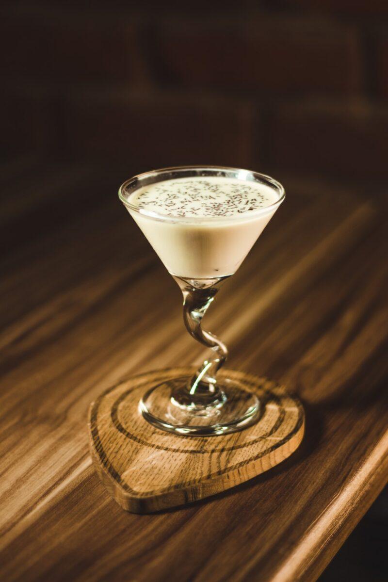 Bar Cream: Martini Glass