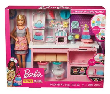 Last Minute Gift: Barbie Cake Decorating Play Set
