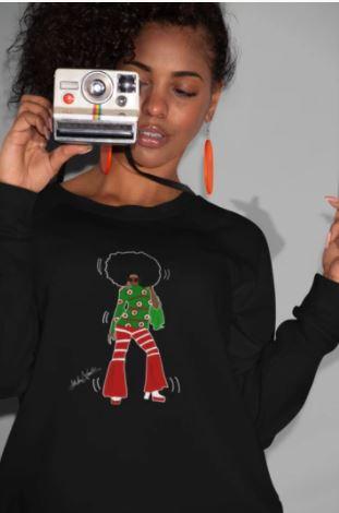Holiday Gift: Disco Queen Sweatshirt