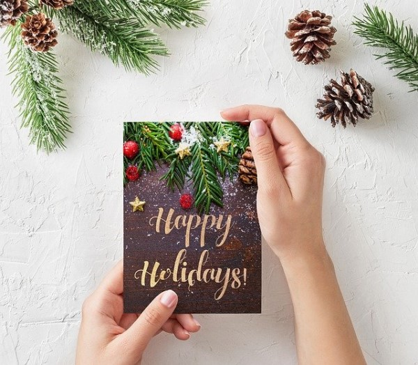 Small Space: Holiday Card