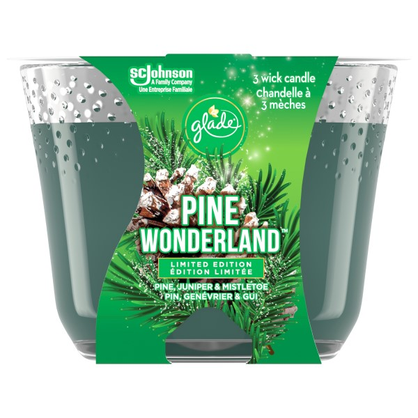 Hobbyist: Glade Pine Scented Candle