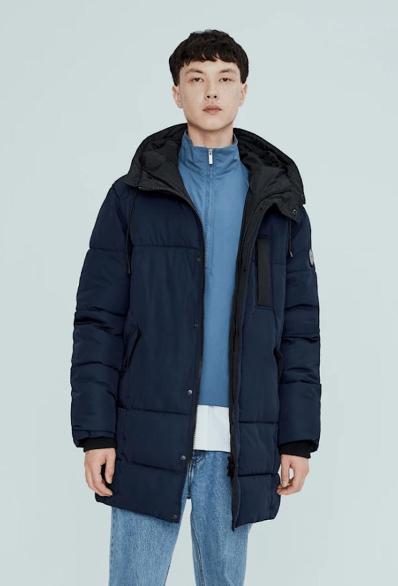 Canadian Winter Coat Men Parka Noize
