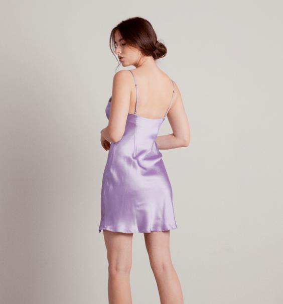 Holiday Fashion: Mini Slip Dress