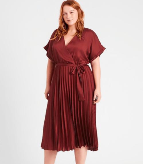 Holiday Fashion: Wrap Dress