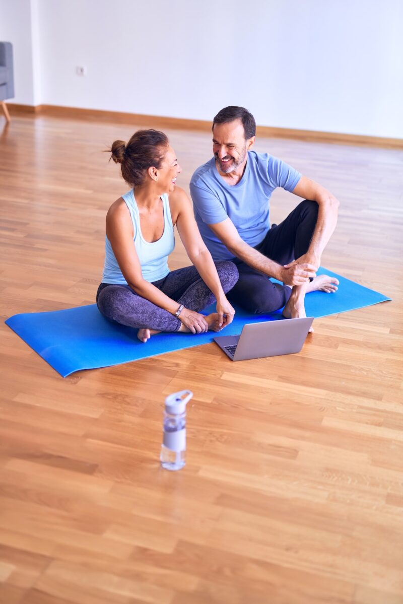 Gift ideas yoga class from home