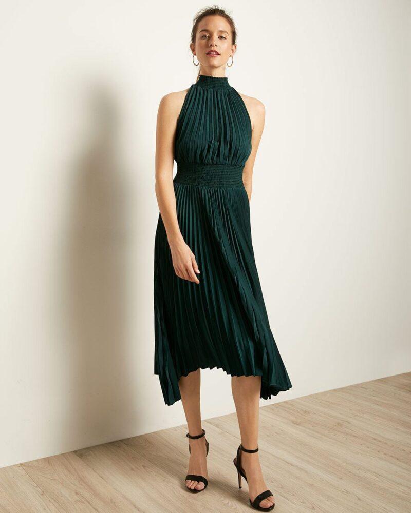 Holiday Fashion: Halter Dress