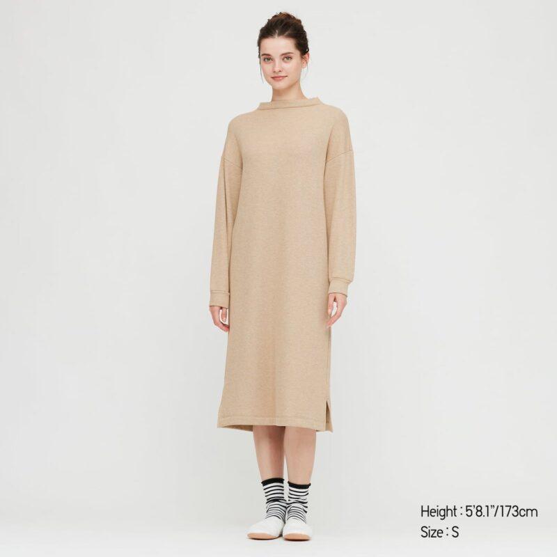 Holiday Fashion: Long Sleeve Midi Dress
