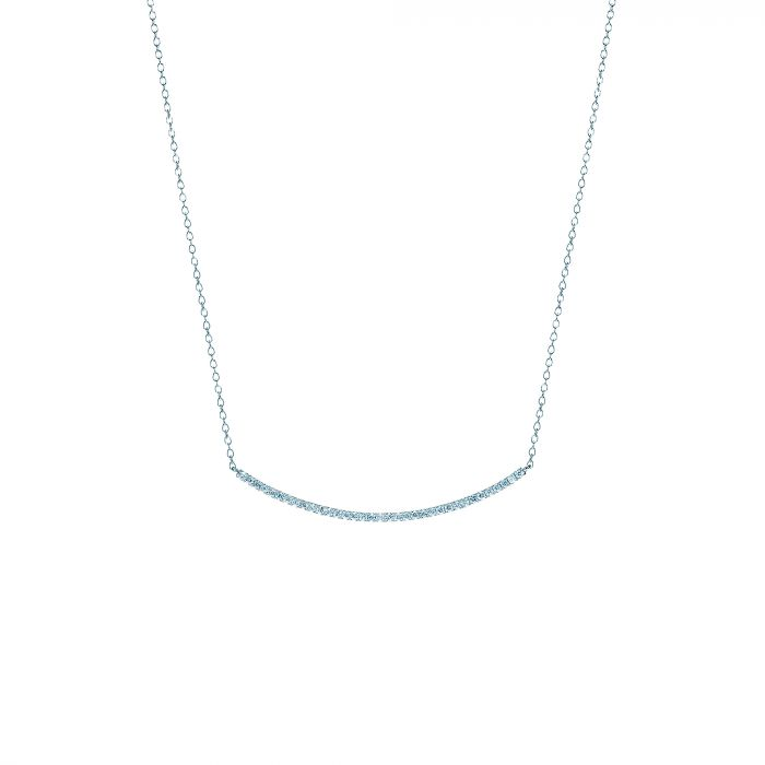 Valentine's Day Gifts: Diamond Bar Necklace