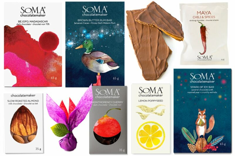 Valentine's Day Gifts: Soma Chocolates