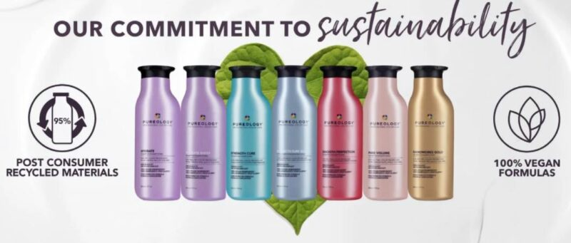 Eco-Friendly: Pureology Shampoos and Conditioners