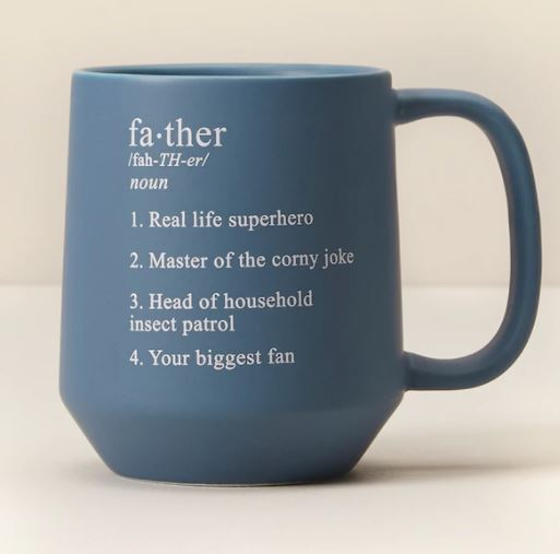 Last Minute Father's Day Gifts: Mug