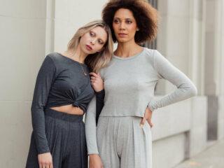 Canadian Fashion Brands: Two women in leisurewear