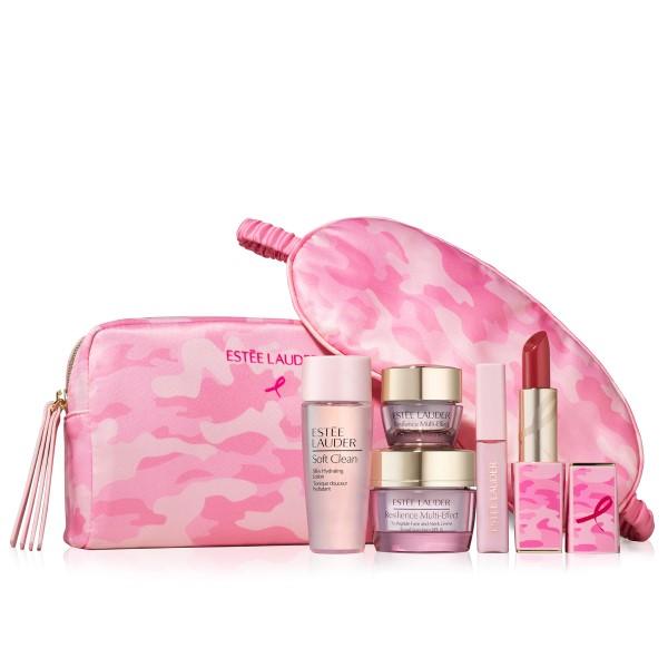 Breast Cancer Awareness: Estee Lauder Skincare Bag
