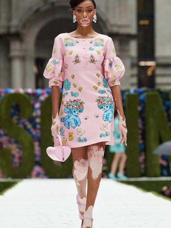 Fashion Trends: New York Fashion Week Runway Model